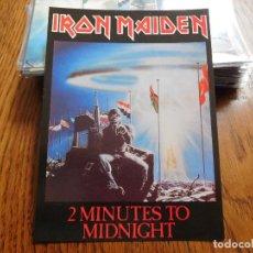 Foto di Cantanti: POSTAL DE IRON MAIDEN 2 MINUTES TO MIDNIGHT EDITADA EN ESCOCIA. Lote 198321741