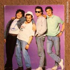 """Fotos de Cantantes: HOMBRES G """"AGITAR ANTES DE USAR"""" (1988). POSTAL SIN CIRCULAR PROMOCIONAL TWINS PRODUCCIONES. Lote 198581295"""