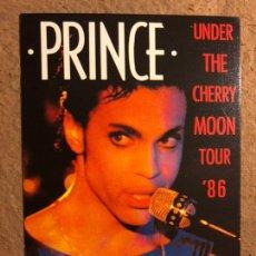 "Fotos de Cantantes: PRINCE AND THE REVOLUTION ""UNDER THE CHERRY MOON TOUR 1986"". POSTAL SIN CIRCULAR.. Lote 198583723"