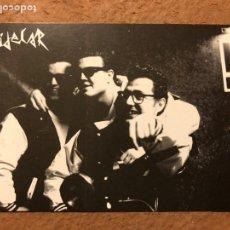 """Fotos de Cantantes: LOS JAVI'S TOBAYOLAS """"EL DOO WOP DEL BARRIO"""". POSTAL PROMOCIONAL CONCIERTO SALA SIDECAR (BARCELONA). Lote 198813795"""