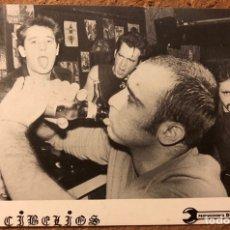 Fotos de Cantantes: DECIBELIOS. TARJETA PROMOCIONAL PRODUCCIONES DRO (AÑOS 80).. Lote 199172281