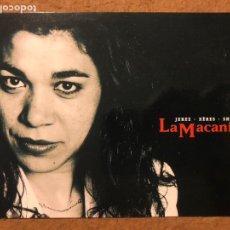 Fotos de Cantantes: LA MACANITA, JEREZ • XEREZ • SHERRY. POSTAL SIN CIRCULAR PROMOCIONAL. NUEVOS MEDIOS.. Lote 199176011