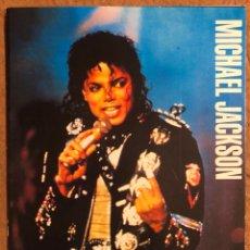 Fotos de Cantantes: MICHAEL JACKSON. POSTAL CIRCULADA PROMOCIONAL DE LA GIRA POR ESPAÑA EN 1988. MARBELLA Y MADRID. Lote 200302891