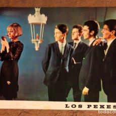 Fotos de Cantantes: LOS PEKES. FOTOGRAFÍA PROMOCIONAL DISCOGRÁFICA ZAFIRO (AÑOS 60). DISCOGRAFÍA AL DORSO. Lote 200566671