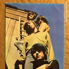 Foto di Cantanti: THE MONKEES. TARJETA PROMOCIONAL DISCOGRÁFICA RCA ESPAÑOLA (1967). Lote 200592996