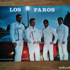 Foto di Cantanti: LOS FAROS - POSTAL BEAT YE YE GARAGE SOUL PSYCH - EN PERFECTO ESTADO. Lote 202524437
