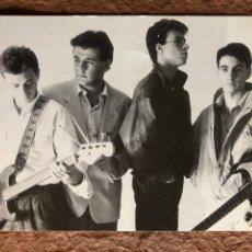 "Fotos de Cantantes: MODESTIA APARTE ""POR AMOR AL ARTE"" (1988). FOTOGRAFÍA PROMOCIONAL DISCOGRÁFICA SALAMANDRA. Lote 202677072"