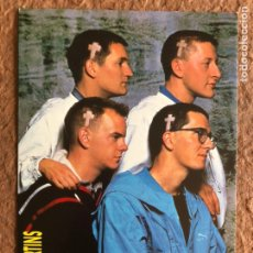 Fotos de Cantores: THE HOUSEMARTINS. POSTAL SIN CIRCULAR PROMOCIONAL GIRA ESPAÑA 1987 SALA ZELESTE Y SALA JÁCARA.. Lote 202872130