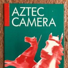 Fotos de Cantantes: AZTEC CAMERA. TARJETA PROMOCIONAL CONCIERTO SALA ZELESTE (BARCELONA) EN 1988.. Lote 202872867