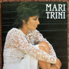 Fotos de Cantantes: MARI TRINI. POSTAL SIN CIRCULAR PROMOCIONAL CONCIERTO SALA YOKO LENNON´S (BILBAO), PRIMEROS 80S.. Lote 203400280