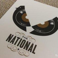 Fotos de Cantantes: THE NATIONAL - MINI POSTER 19X14 CM APROX. Lote 204428362