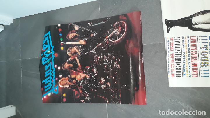 Fotos de Cantantes: mas de 70 posters por estrenar ,iron maden ,simple minds ,phill collins , marca scandecor 1987-1890 - Foto 4 - 204504253