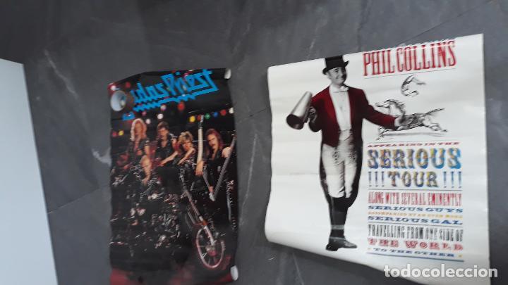 Fotos de Cantantes: mas de 70 posters por estrenar ,iron maden ,simple minds ,phill collins , marca scandecor 1987-1890 - Foto 7 - 204504253