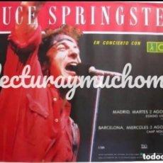 Foto di Cantanti: BRUCE SPRINGSTEEN. HISTÓRICO CARTEL ORIGINAL TOUR 88. VICENTE CALDERÓN (MAD) Y CAMP NOU (BCN).. Lote 205304095