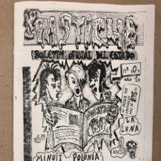 Fotos de Cantantes: PASTICHE N° 0 (BASAURI 1984). HISTÓRICO FANZINE: LOQUILLO, GABINETE CALIGARI, MINUIT POLONIA,. Lote 205366093