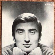 Fotos de Cantantes: LUIS DE ORDUÑA. FOTOGRAFÍA PROMOCIONAL DISCOGRÁFICA COLUMBIA (AÑOS 60). DEDICADA.. Lote 205457708