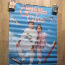 Fotos de Cantantes: ENRIQUE Y ANA - POSTER CARTEL OFICIAL HISPAVOX 1982 - 63 X 93 CMS - SIN USO - TVE TELEVISION. Lote 205849412