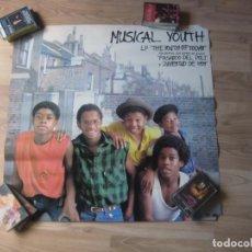 Fotos de Cantantes: MUSICAL YOUTH - POSTER CARTEL OFICIAL - 58 X 60 CMS - - HIP HOP DISCO PIONEROS. Lote 205849592