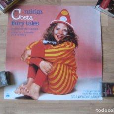 Fotos de Cantantes: NIKKA COSTA - CARTEL OFICIAL COMPAÑIA ARIOLA - 50 X 50 CMS - FAIRY TALES - POP 80'S - NUEVO. Lote 205849835