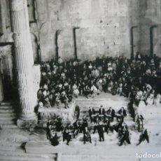 Fotos de Cantantes: FESTIVAL INTERNATIONAL DE BAALBECK-ORQUESTA DE STUTTGART-POSTAL FOTOGRAFICA ANTIGUA-(70.721). Lote 205854650