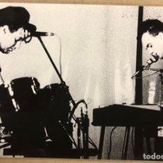 Fotos de Cantantes: THE MONOCHROME SET. FOTOGRAFÍA ORIGINAL EN B/N DE LOS AÑOS 80.. Lote 206832727