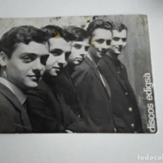 Fotos de Cantantes: ELS XERRACS POSTAL PROMOCIONAL EDIGSA. Lote 207130443