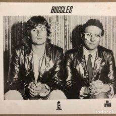 Fotos de Cantantes: BUGGLES. FOTOGRAFÍA ORIGINAL PROMOCIONAL DISCOGRÁFICA ISLAND RECORDS/ARIOLA. 1979.. Lote 207131983