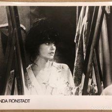 Fotos de Cantantes: LINDA RONSTADT. FOTOGRAFÍA ORIGINAL PROMOCIONAL. AÑOS 80.. Lote 207132682