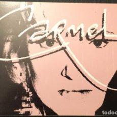 Fotos de Cantantes: POSTAL PROMOCIONAL GIRA ESPAÑOLA CARMEL. Lote 208201997