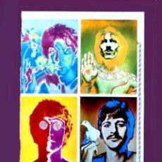 Fotos de Cantantes: THE BEATLES, POSTER PUBLICADO EN LA REVISTA MISS - 1968, DEL FOTOGRAFO RICHARD AVEDON - ORIGINAL. Lote 208313856