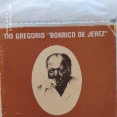 Foto di Cantanti: LIBRO CON DISCO TIO BORRICO DE JEREZ. Lote 208761881