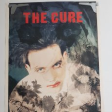 Fotos de Cantantes: POSTER THE CURE BROCKUM 1989. Lote 210937520