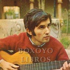 Fotos de Cantantes: TARJETA PROMOCIONAL DE VÍCTOR MANUEL EN 1970. Lote 211400019