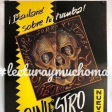 "Fotos de Cantantes: SINIESTRO TOTAL ""BAILARÉ SOBRE TU TUMBA"" (1985). HISTÓRICO CARTEL ORIGINAL PROMOCIONAL L.P.. Lote 211443522"