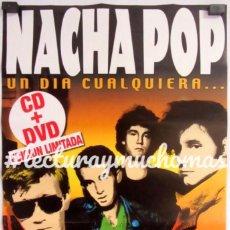 """Fotos de Cantantes: NACHA POP """"UN DÍA CUALQUIERA"""" (2003). CARTEL PROMOCIONAL DEL RECOPILATORIO.. Lote 211443792"""