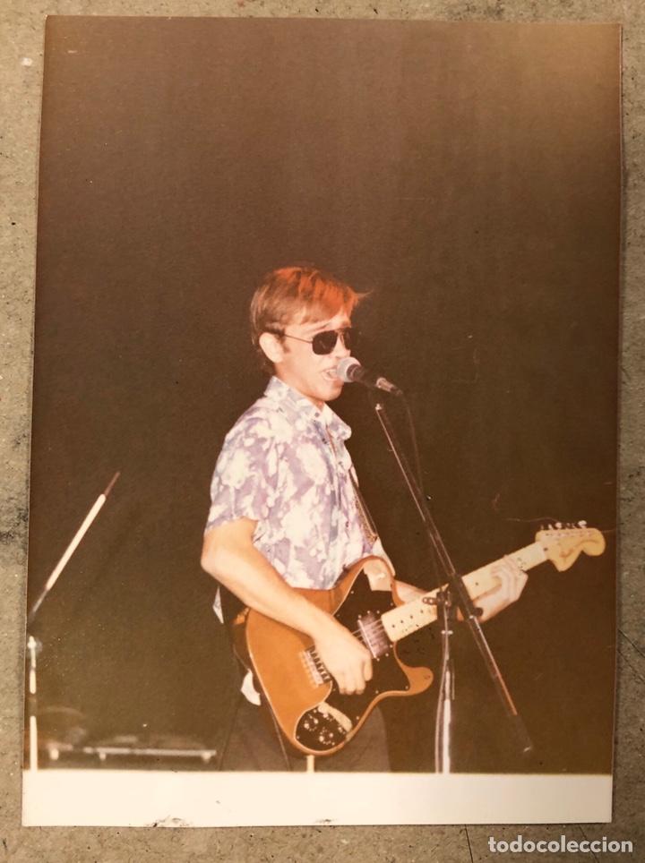 NACHO GARCÍA VEGA - FOTOGRAFÍA ORIGINAL CONCIERTO NACHA POP EN BILBAO PRIMEROS 80S. (Música - Fotos y Postales de Cantantes)