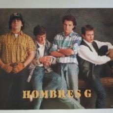 Fotos de Cantantes: POSTER HOMBRES G AÑOS 1980. Lote 211900872