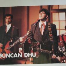 Fotos de Cantantes: POSTER DUNCAN DHU , AÑOS 1980. Lote 211901161