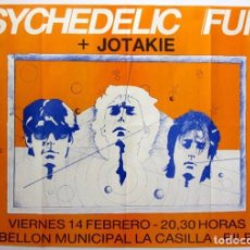 Fotos de Cantantes: PSYCHEDELIC FURS + JOTAKIE. CARTEL ORIGINAL HISTÓRICO CONCIERTO EN BILBAO (1984).. Lote 211924701