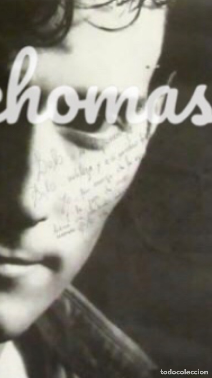 Fotos de Cantantes: ANTONIO VEGA, NO ME IRÉ MAÑANA (1991). CARTEL ORIGINAL CON DEDICATORIA Y FIRMA DE ANTONIO - Foto 2 - 211931398