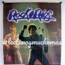 """Fotos de Cantantes: MIGUEL RÍOS """"ROCK & RÍOS"""". HISTÓRICO CARTEL ORIGINAL PROMOCIONAL DE 1982.. Lote 211932612"""