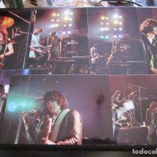 Fotos de Cantantes: RAMONES - LOTE DE 18 FOTOGRAFIAS DE CONCIERTO DE FINALES DE LOS 70.. Lote 212117486