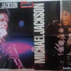Fotos de Cantantes: 2 POSTER NUEVOS MICHAEL JACKSON (EL GRAN MUSICAL 1987-1988) TAMBIEN MECANO - PET SHOP BOYS 53X41 CMS. Lote 212619745