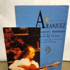 """Fotos de Cantantes: PACO DE LUCÍA """"CONCIERTO DE ARANJUEZ"""" (1991). CARTEL PROMOCIONAL DEL ÁLBUM DE CARTÓN EN 3D,. Lote 216933241"""