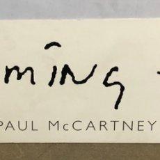 """Fotos de Cantantes: PAUL MCCARTNEY """"FLAMING PIE"""" (1997). CARTEL PROMOCIONAL DEL ÁLBUM. DE CARTÓN.. Lote 216935467"""
