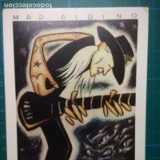 Fotos de Cantantes: POSTAL MAD ALBINO JOHNNY WINTER- HITA - SOLO BLUES 4 - D.L.M. 16.019- 1989 - JOMAGAR POSTCARD. Lote 216936295