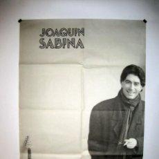 Fotos de Cantantes: JOAQUÍN SABINA. HISTÓRICO CARTEL PROMOCIONAL DE LOS AÑOS 80.. Lote 217115850