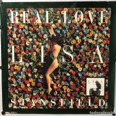 """Fotos de Cantantes: LISA STANSFIELD """"REAL LOVE"""" (1991). CARTEL PROMOCIONAL DEL ÁLBUM.. Lote 217157561"""