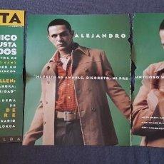 Fotos de Cantantes: ALEJANDRO SANZ ARTÍCULOS REVISTAS AÑOS 90. Lote 217544500