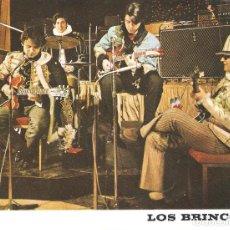 Fotos de Cantantes: POSTAL PROMOCIONAL DISCOGRAFÍA LOS BRINCOS. ZAFIRO.. Lote 217971042